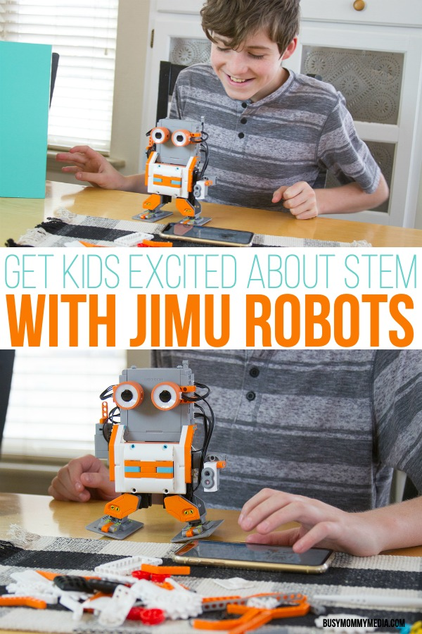 Get Kids Excited About STEM with JIMU Robots