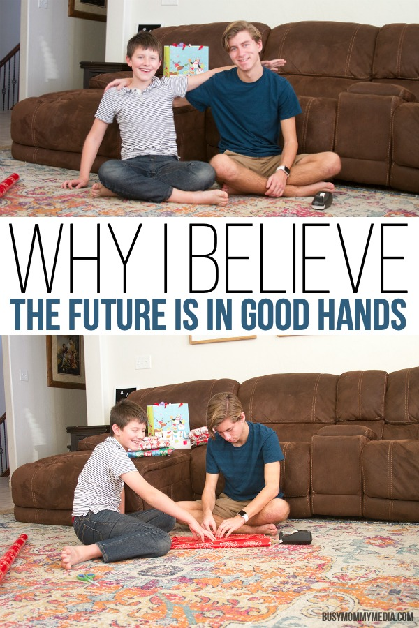 Why I Believe The Future Is In Good Hands