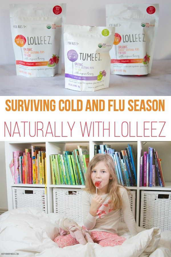 Surviving Cold and Flu Season Naturally with Lolleez