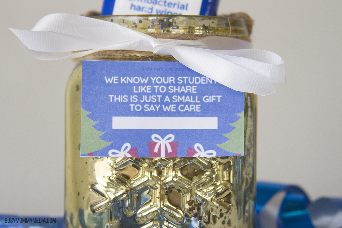 Holiday teacher gift idea