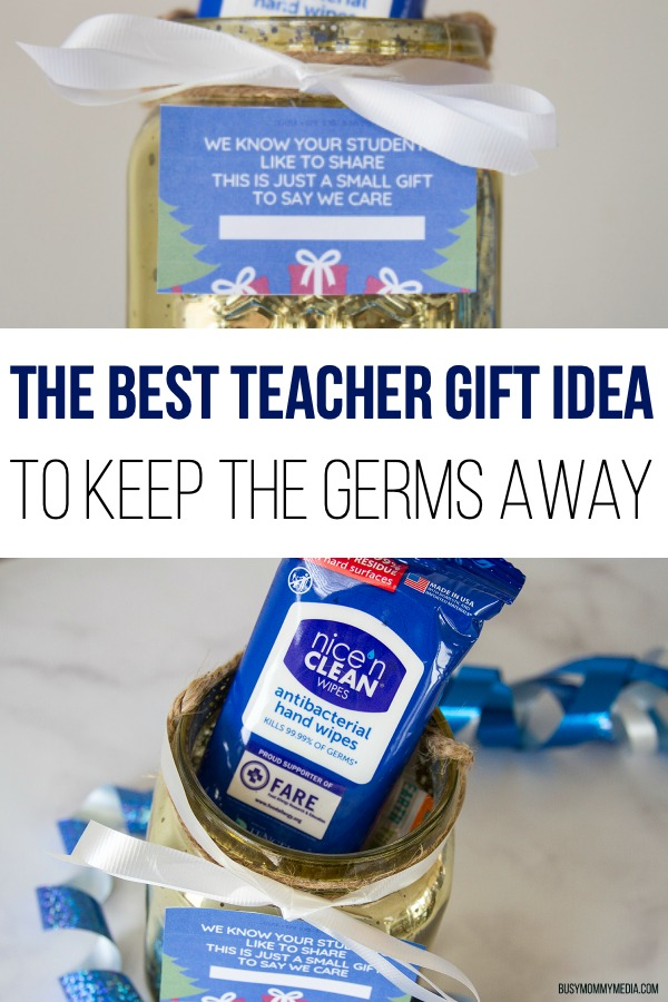 The Best Teacher Gift Idea to Keep the Germs Away
