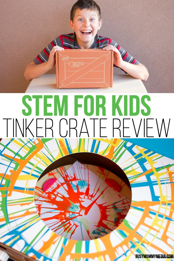 STEM for Kids - Tinker Crate Review