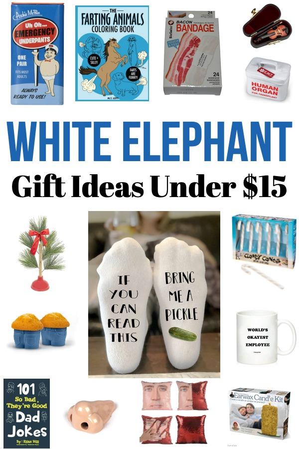 White Elephant Gift Ideas Under $15