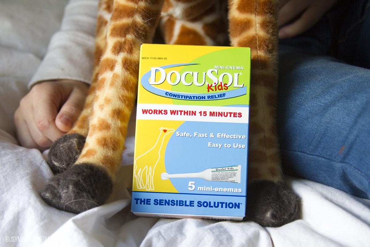 Docusol mini-enemas for kids