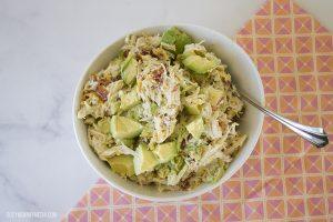 Avocado Ranch Chicken Salad