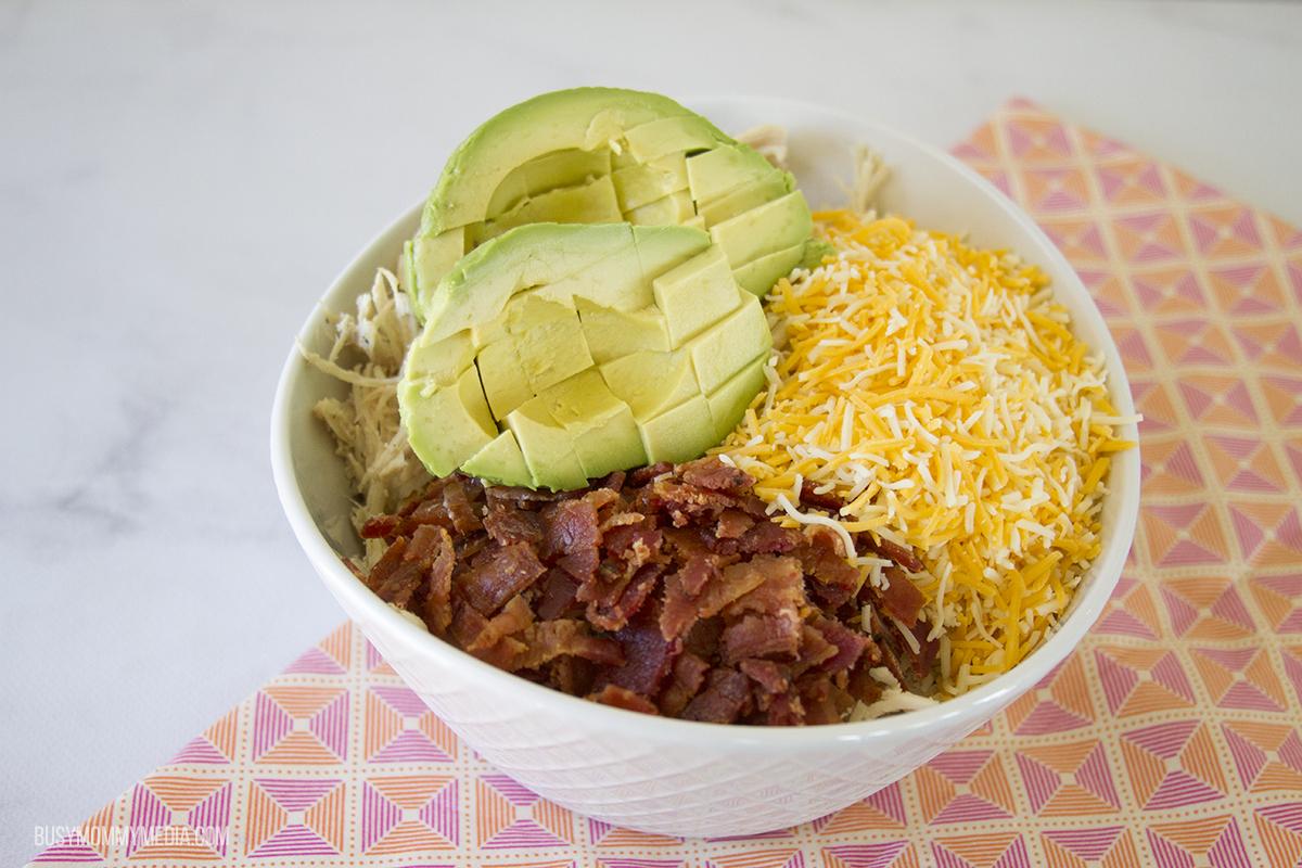 Avocado Ranch Chicken Salad