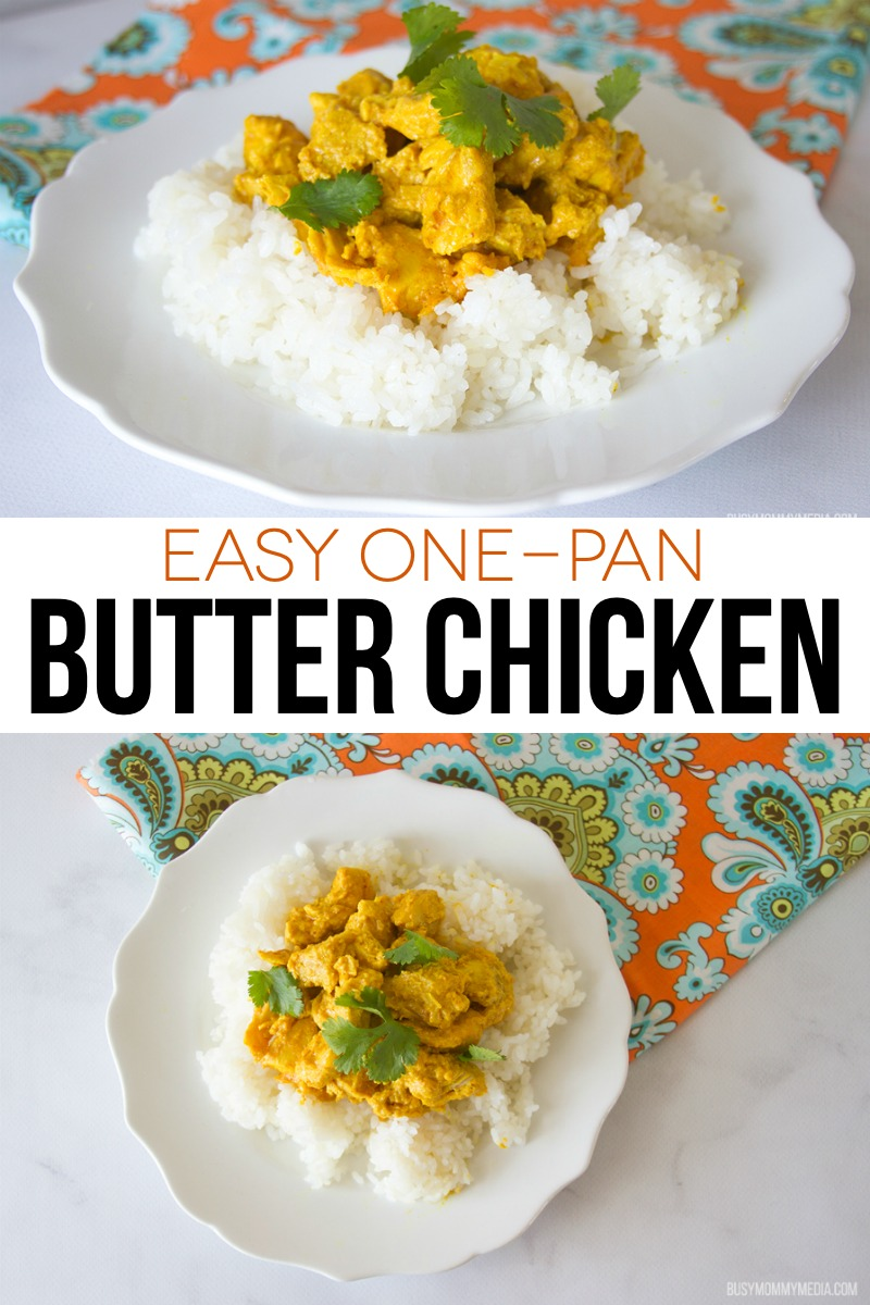 Easy One-Pan Butter Chicken