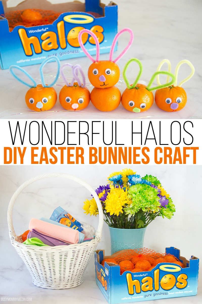 Wonderful Halos DIY Easter Bunnies Craft