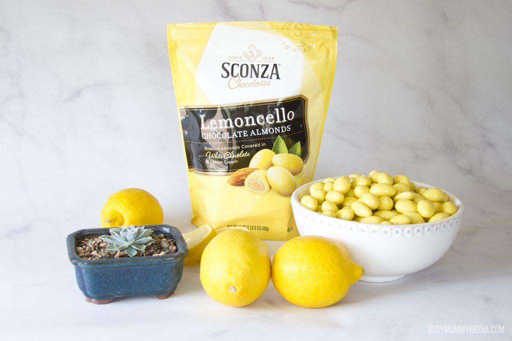 Lemoncello Chocolate Almonds