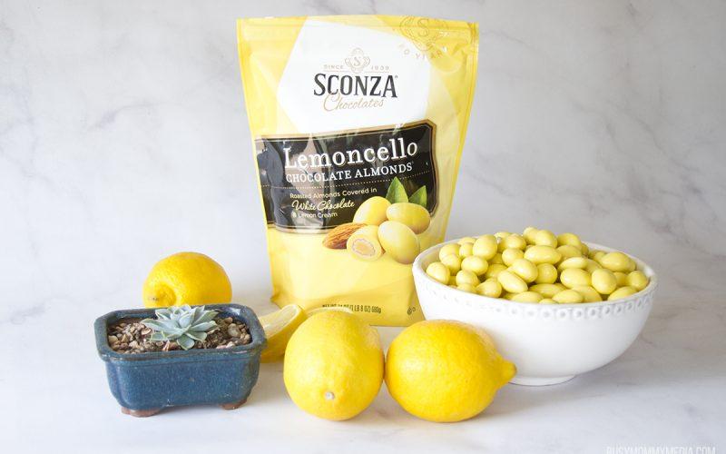 Celebrate Spring with Sconza Lemoncello Chocolate Almonds
