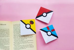 Pokémon Ball Corner Bookmarks