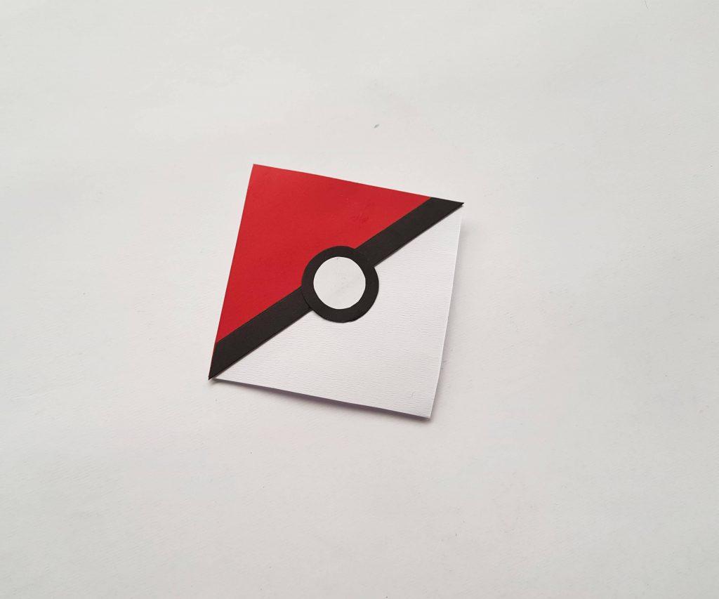 Pokemon Bookmark Step 12