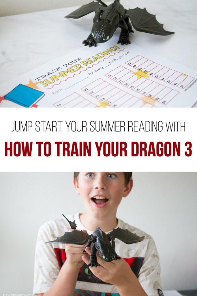 Jump Start your Summer Reading with How to Train Your Dragon 3