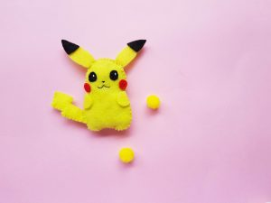 Pokémon Craft – DIY Felt Pikachu Plush