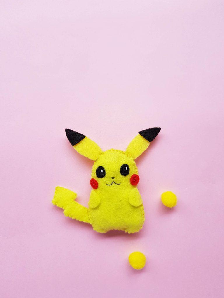 DIY Felt Pikachu