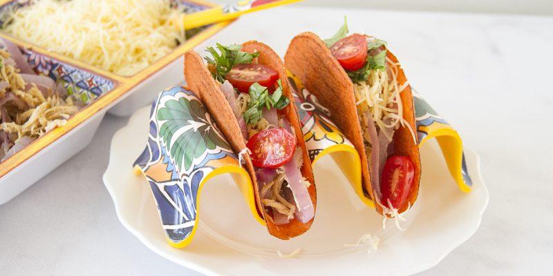Barbecue Chicken Tacos