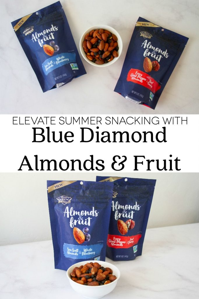 Elevate Summer Snacking with Blue Diamond Almonds & Fruit