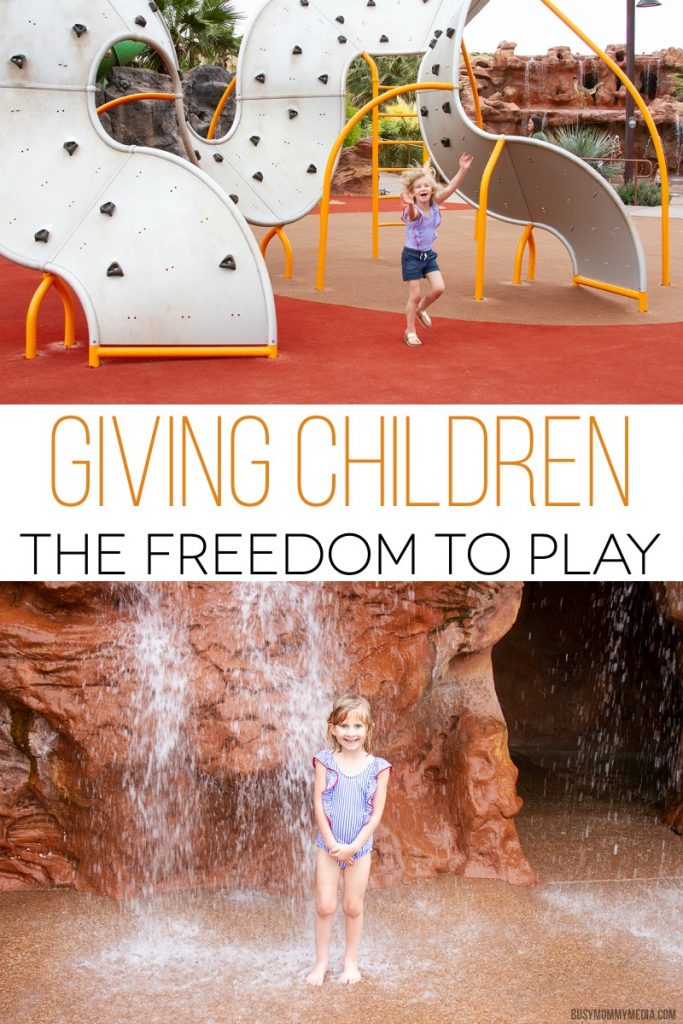 Giving Children the Freedom to Play