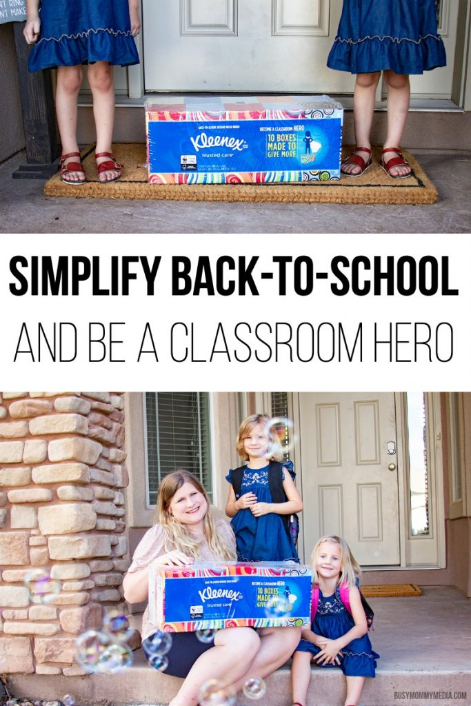 Simplify Back to School and Be a Classroom Hero