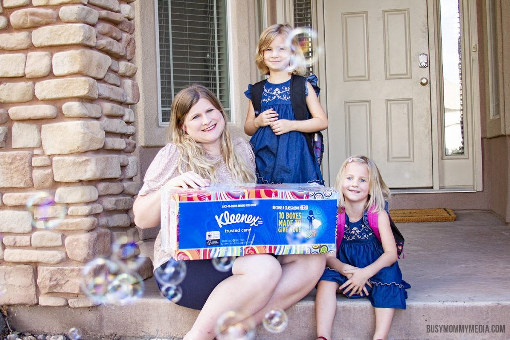 Simplify Back to School with Kleenex