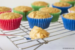 The Best Oatmeal Peanut Butter Muffins