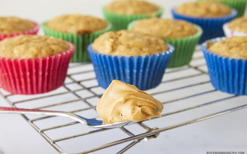 The Best Oatmeal Peanut Butter Muffins
