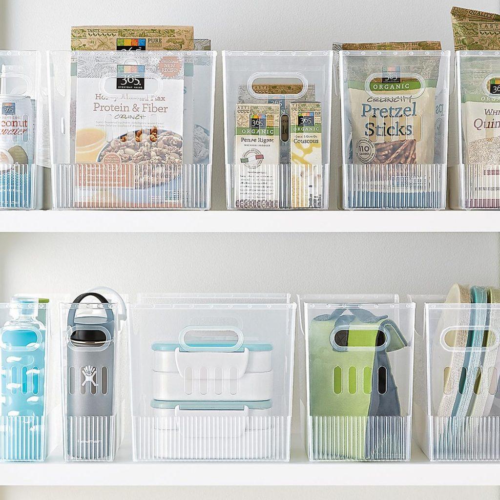 Multi-purpose bins