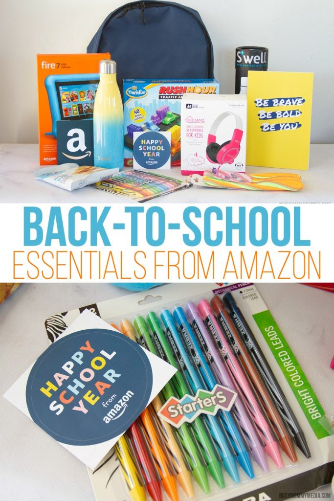 Back-to-School Essentials from Amazon