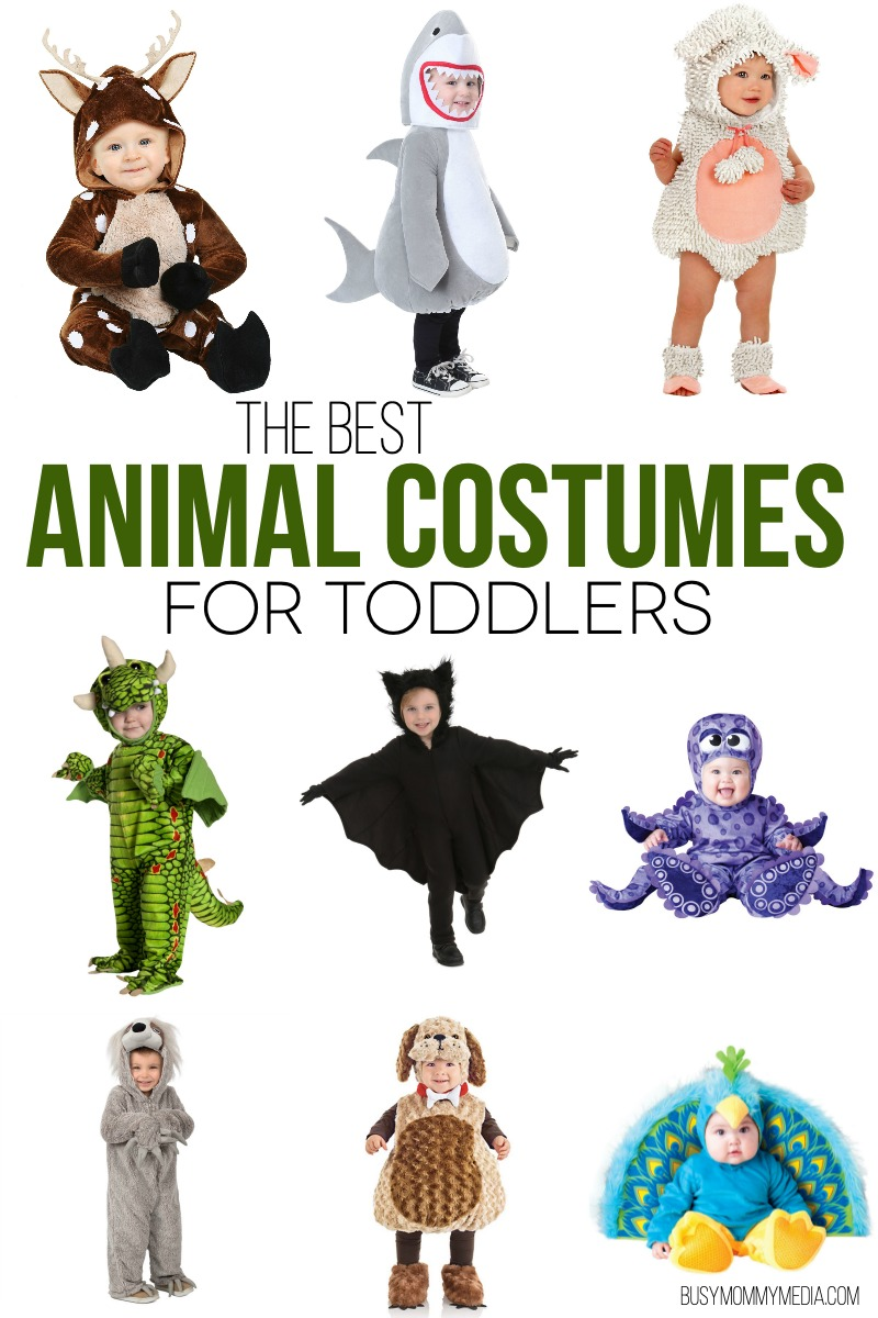The Best Animal Costumes for Toddlers