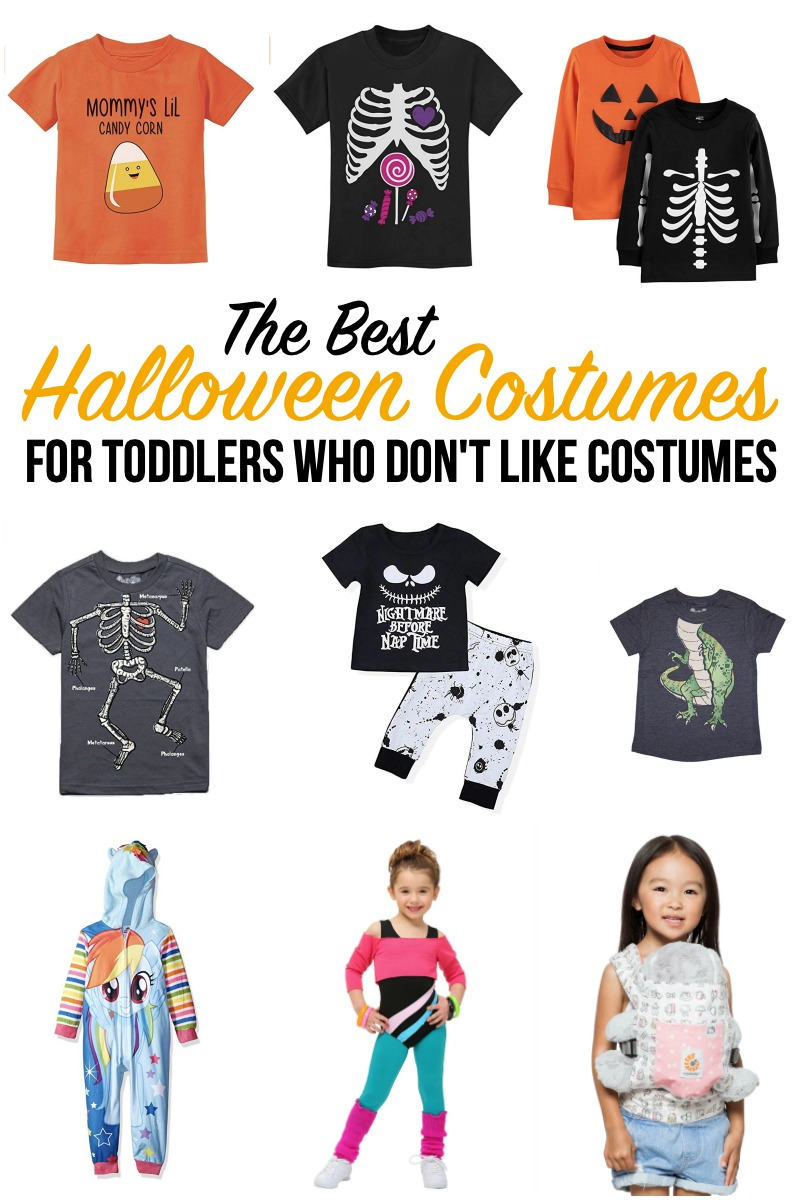 The Best Halloween Costumes for Toddlers Who Don't Like Costumes