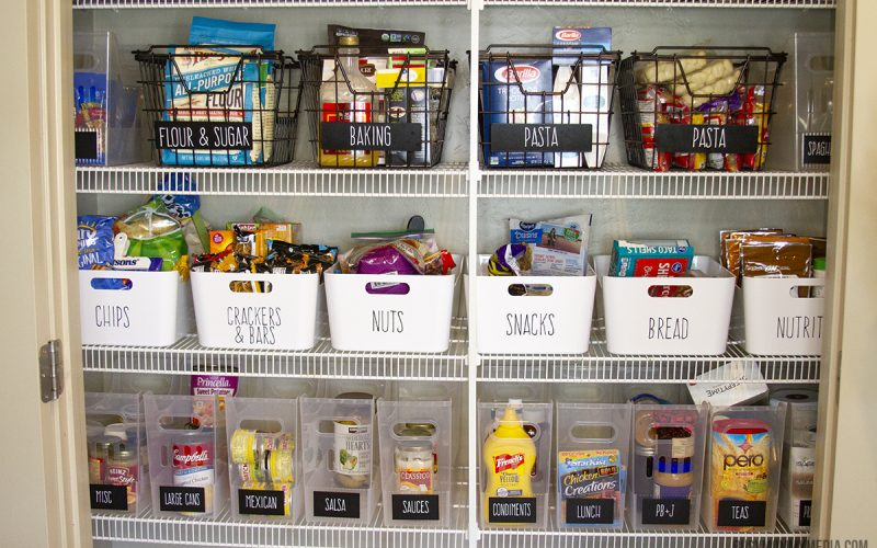 How to Organize Your Pantry – Pantry Organization Tips