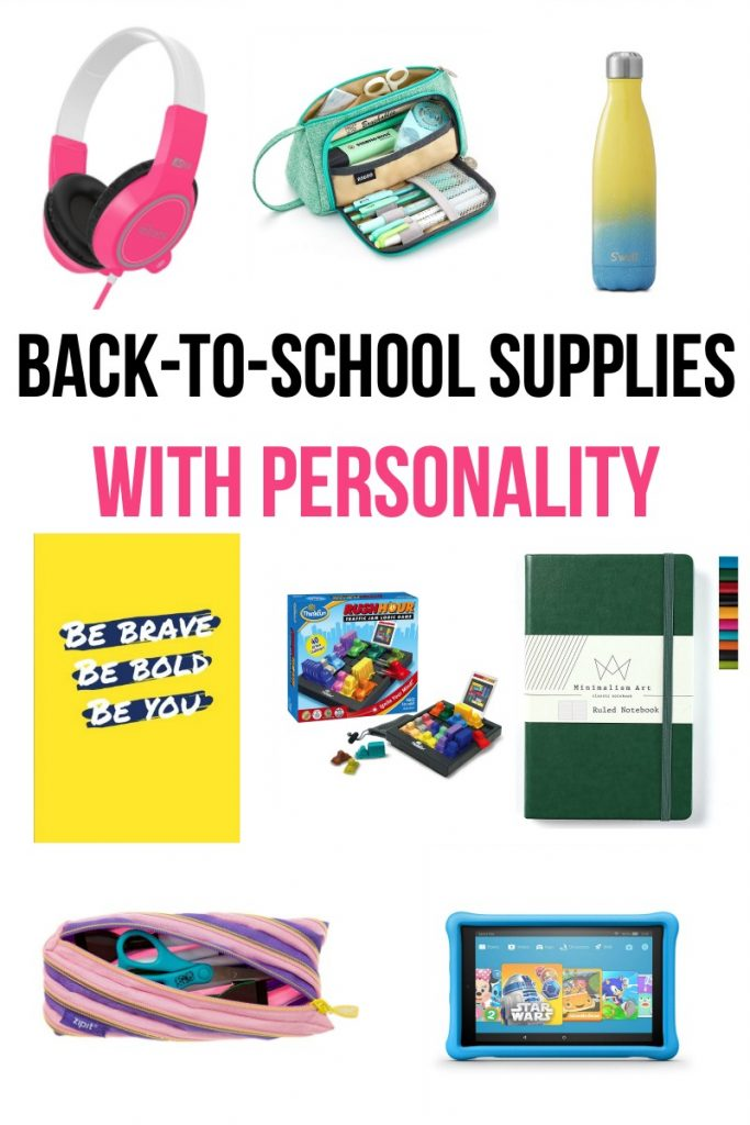 Back-to-School Supplies with Personality