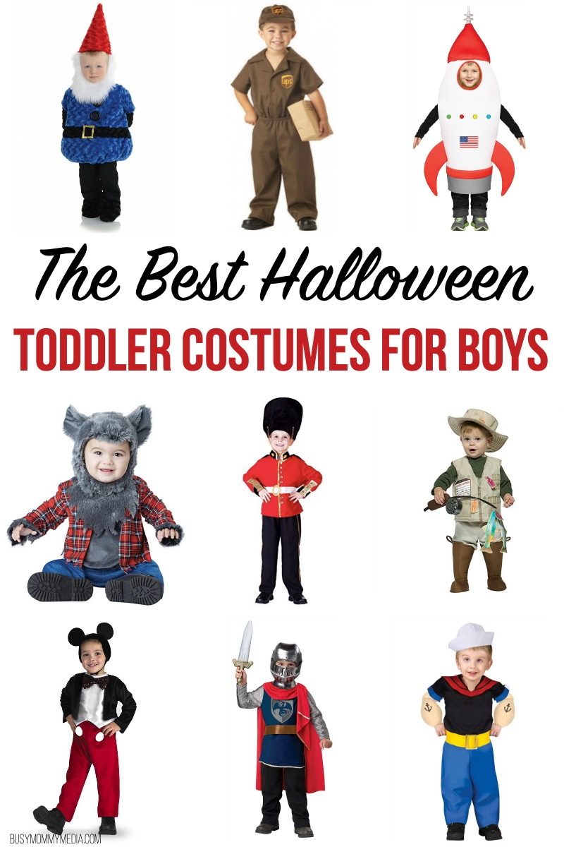 The Best Halloween Toddler Costumes for Boys