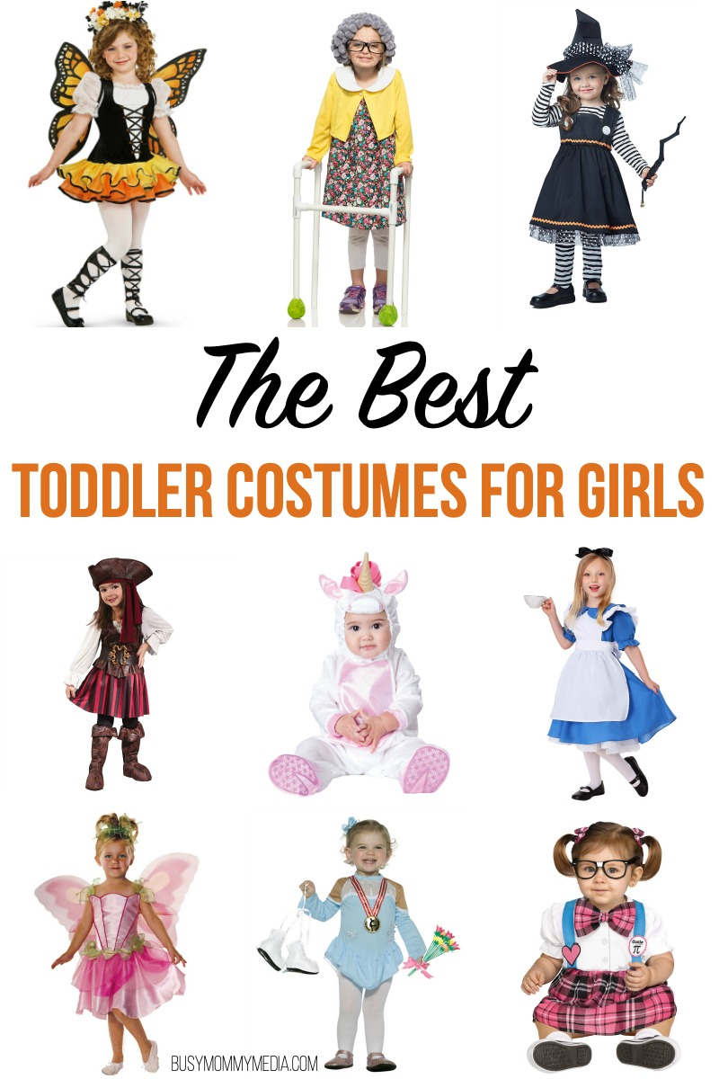The Best Toddler Costumes for Girl