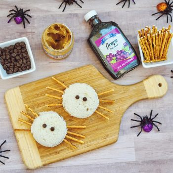 Easy Spider Sandwich