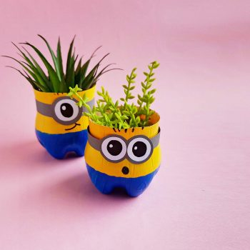 DIY Minion Planters