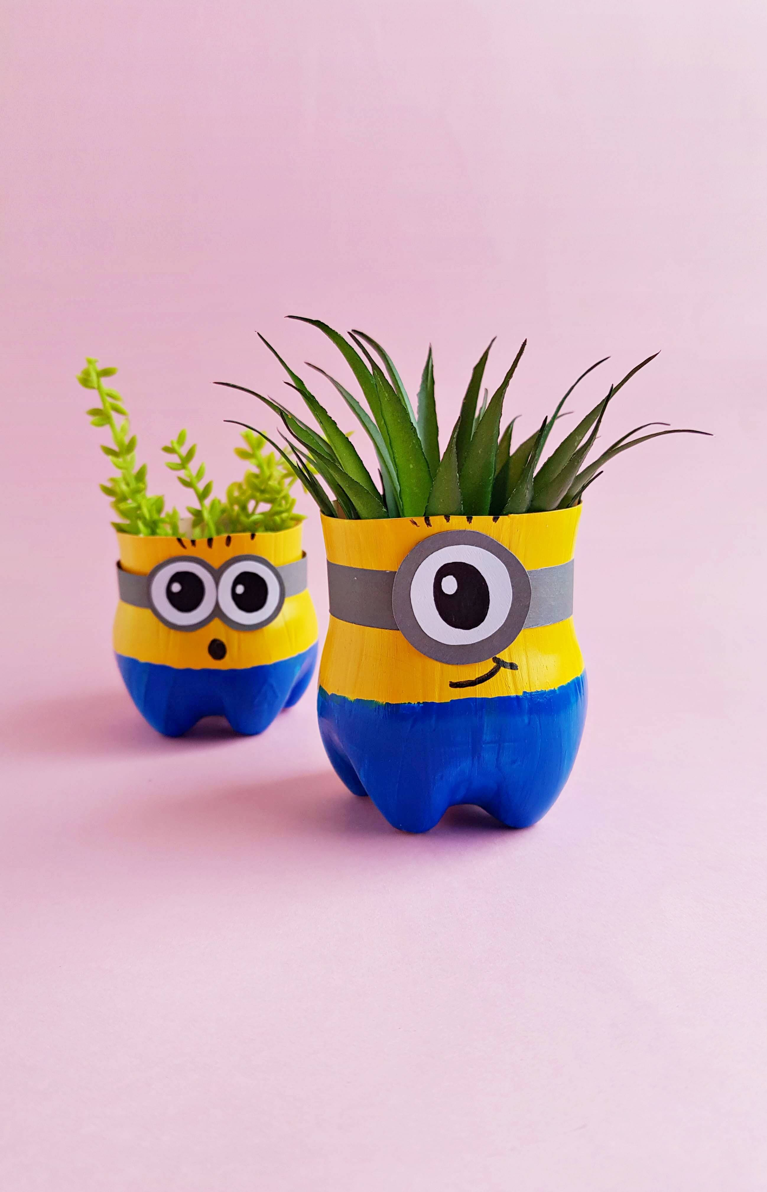 DIY Minion Planter