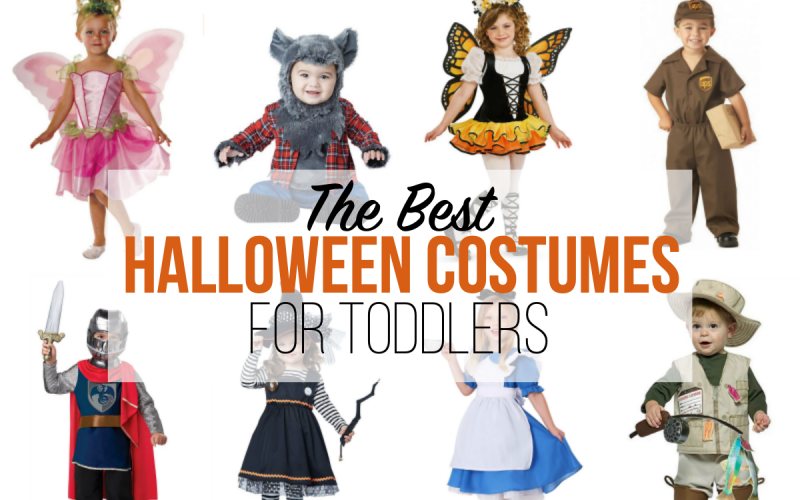 The Best Halloween Costumes for Toddlers