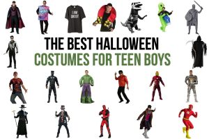 The Best Halloween Costumes for Teen Boys