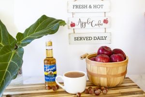 Sugar-Free Hazelnut Apple Cider