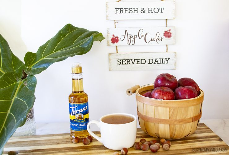 Hazelnut Apple Cider