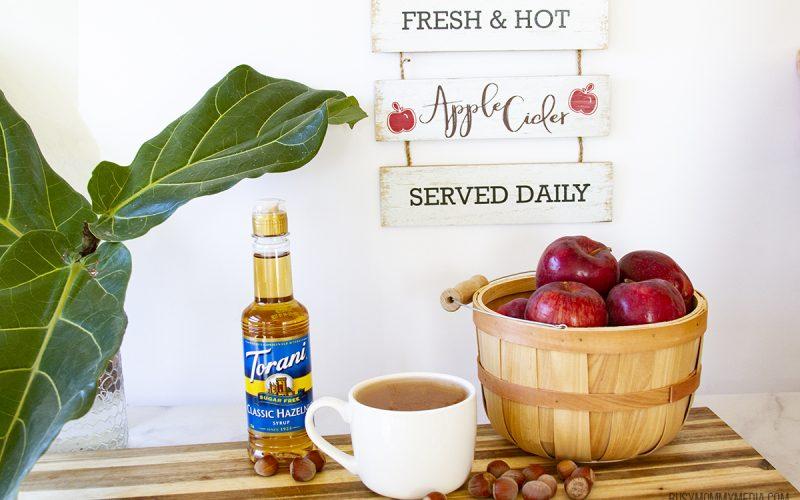 Sugar-Free Hazelnut Apple Cider