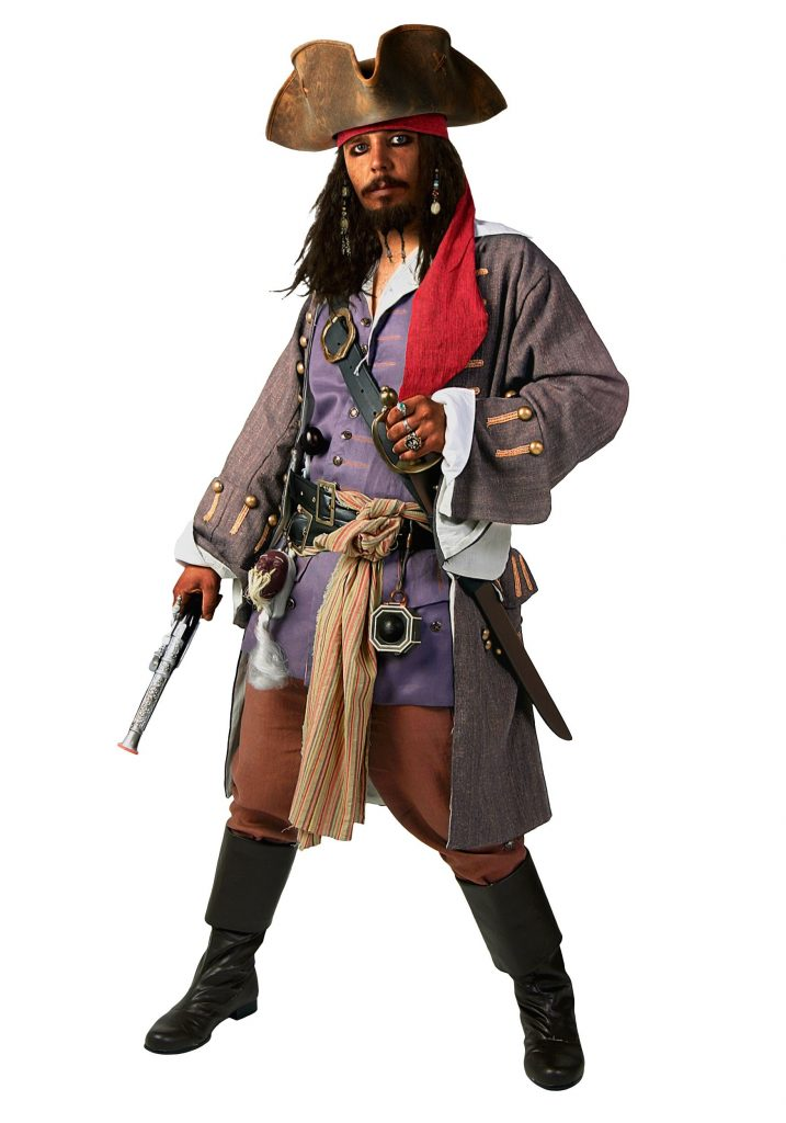 Carribean Pirate Costume for teens