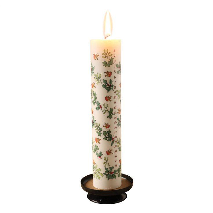 Christmas Advent Calendar Candle