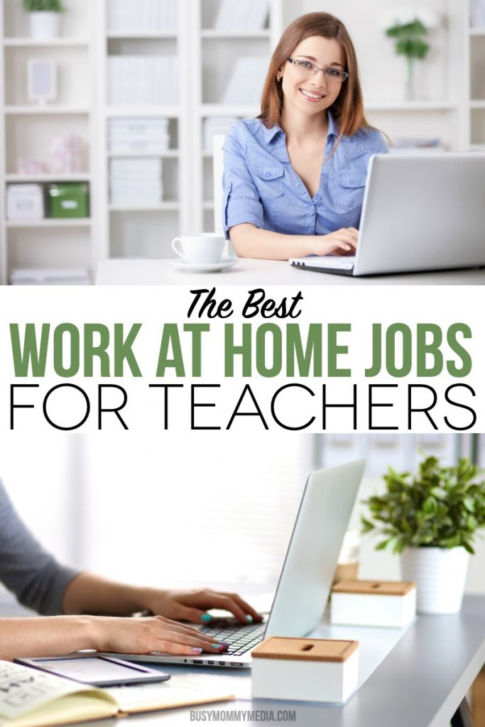 The Best Work at Home Jobs for Teachers