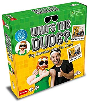 Who's The Dude Charades Game