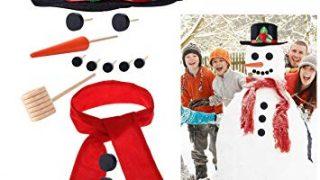 iBaseToy Snowman Building Kit for Kids