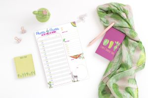 Download this Adorable Mama Llama Daily Organizer (Free Printable)