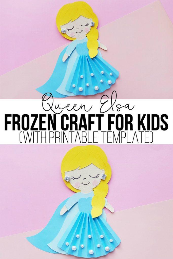Queen Elsa Frozen Craft for Kids