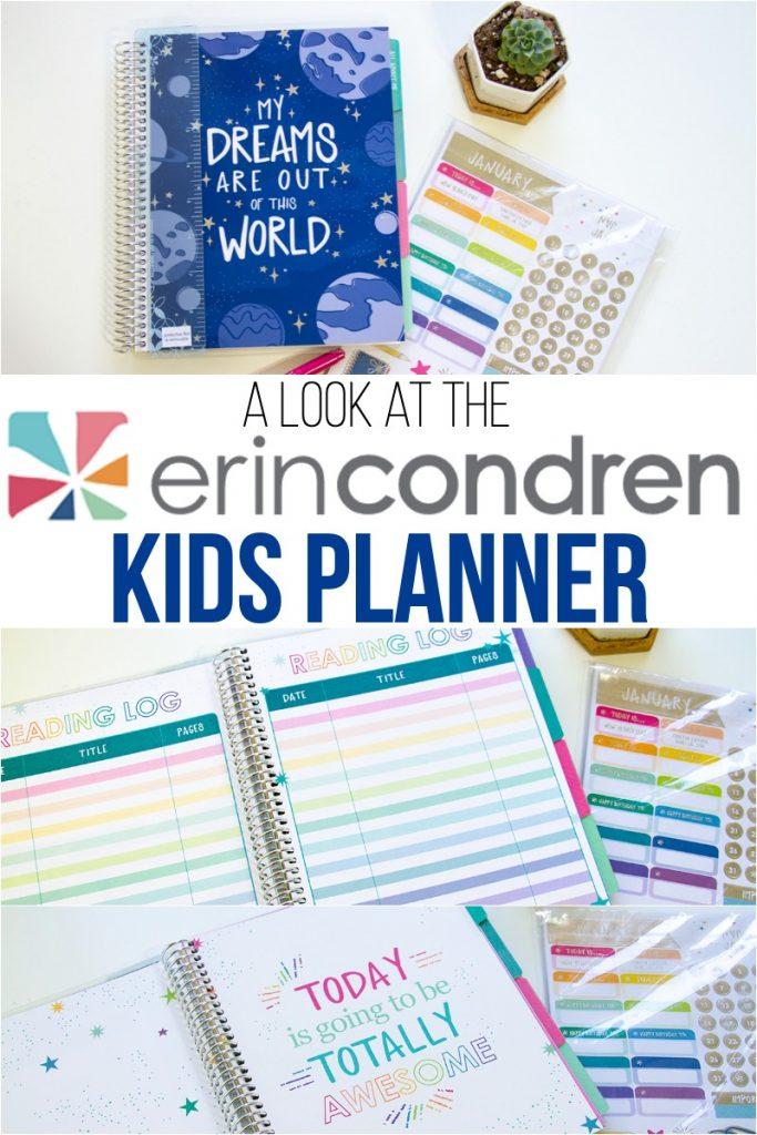 Erin Condren Kids Planner